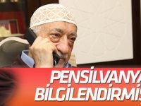 PENSİLVANYA'YI  BİLGİLENDİRMİŞLER!