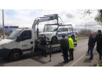Erzincan'da polis otosu kaza yaptı: 2'i polis 3 yaralı
