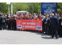 Kılıçdaroğlu'na yapılan saldırı Adıyaman'da protesto edildi