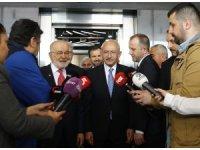 Karamollaoğlu, Kılıçdaroğlu'nu ziyaret etti