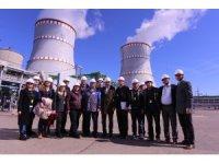 Türk heyeti, Atomexpo 2019 Fuarı ve Leningrad NGS teknik gezisine katıldı