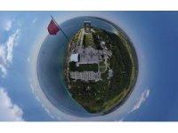"""Gelibolu Tarihi Alanı'na """"360 derece"""" kuş bakışı"""