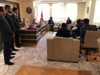 ABD Ankara Büyükelçiliği Ticaret Ateşesi, SANKON'u ziyaret etti