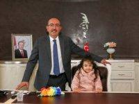 Başkan Kavuş çocukları ağırladı