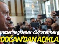 """Kürsüye HDP'li gelince ayrıldı! """"Şehit cenazesine giderken dikkat etmek gerekiyor"""""""