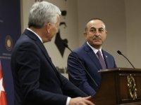Bakan Çavuşoğlu: ''ABD'nin yaptırım kararlarına karşıyız''