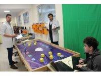 Okulda robot turnuvası