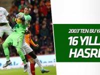 Konyaspor, Galatasaray'ı 16 yıldır yenemiyor!