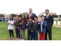 Burhaniye'de Hasan Taha atletizmde ilçe birincisi oldu