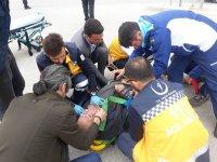 Kazada yaralanan bisiklet sürücüsü yaşamını yitirdi