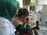 Öğrencilerden Bahri Dağdaş'a ziyaret
