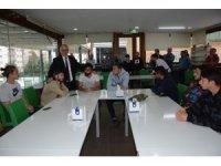 Başkan Ergün'den Manisa BBSK'li futbolculara moral ziyareti