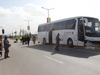 Konya'da Tur Otobüsü ile Otomobil Çarpıştı