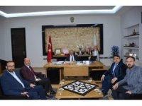 Kaymakam Kaya ve Başkan Bozkurt'tan Başkan Zeybek'e hayırlı olsun ziyareti