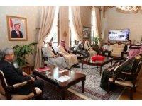 Suriye Kabileler ve Aşiretler Meclisinden Hatay Valiliğine ziyaret