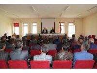 Hadim'de muhtarlar toplantısı yapıldı
