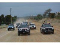 Türkiye Ulusal Off-Road Şampiyonası kortej geçişi ile başladı