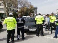 Aksaray'da trafik kuralı ihlaline sıkı denetim