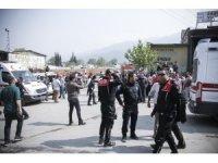 GÜNCELLEME - Bursa'da sanayi sitesinde patlama ve yangın: 5 yaralı