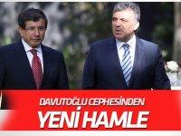 """Davutoğlu cephesinden yeni hamle! """"Yeni parti kurulmayacak, AK Parti içinde kalıp..."""""""