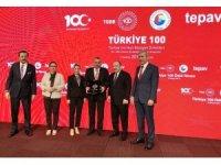Ödemiş, 'Türkiye 100' töreninde