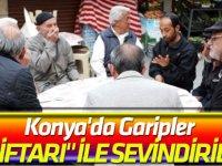 """Konya'da Garipler """"Gül İftarı"""" ile Sevindiriliyor"""