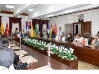 Peyzaj Mimari Odası Yönetim Kurulu üyeleri, Nallıhan Belediyesini ziyaret etti