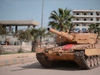 Suriye'deki gözlem noktasına saldırıya anında karşılık verildi