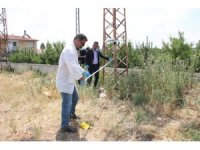 Karaman'da elektrik akımına kapılan işçi ölümden döndü