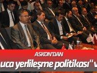 """ASKON'dan """"uçtan uca yerlileşme politikası"""" vurgusu"""