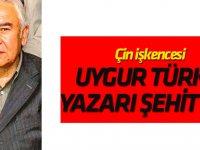 Çin işkencesi  Uygur Türk'ü yazarı şehit etti
