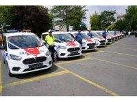 Belediyeden emniyete 11 araç tahsis edildi