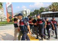 Alanya'daki uyuşturucu operasyonuna 5 tutuklama