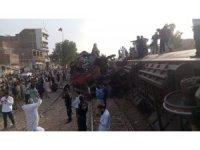 Pakistan'da tren kazası: 3 ölü