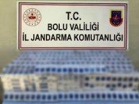 Bolu'da kaçak sigara operasyonu: 5 gözaltı