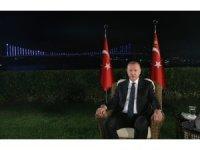 Erdoğan, sosyal medya ve televizyon ortak yayınında