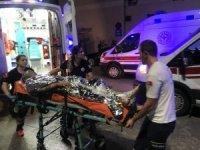Kimyasal yüklü tanker alev alev yandı: 3 yaralı