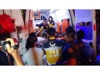 4. kattan havalandırma boşluğuna düşen şahıs ağır yaralandı