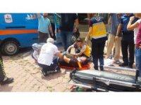 Kargo aracı ile cip çarpıştı: 2 yaralı