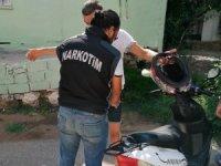 Antalya'da polis Zeytinköy'de 6 aylık uyuşturucuyla mücadele raporunu açıkladı