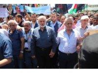 Filistinliler ABD'nin Yüzyılın Anlaşması planını protesto etti
