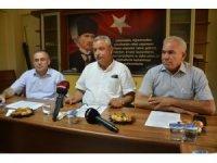 Ziraat odası başkanları afet zararı ve pamuk primlerini masaya yatırdı