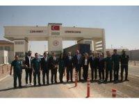 Ticaret Başkan Yardımcısı Turagay sınır kapılarında incelemelerde bulundu