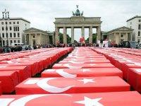Berlin'de 15 Temmuz Demokrasi ve Milli Birlik Günü