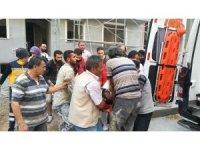 Kocaeli'de inşaatın 3'üncü katından düşen işçi yaralandı