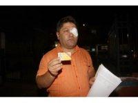 Fethiye'de gazeteciye saldırı