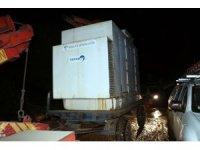 Düzce'de selden etkilenen köye elektrik verildi