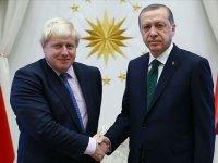 Cumhurbaşkanı Erdoğan, İngiltere Başbakanı Johnson'ı kutladı