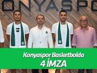 Konyaspor Basketbol'da 4 imza