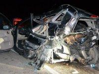 Konya'da feci kaza: 2'si ağır 8 yaralı